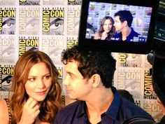 these 2 are so cute! <3 #Waige #Kelyes #TeamScorpion #SDCC #SDCC2015 #ScorpionCBS