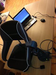 Istuimen 3D-mittaus / 3D-mallinnus MicroScribe mittakäsivarrella ja Rhinolla.