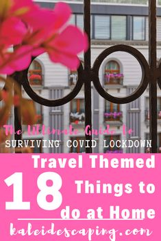 Get practical tips, guides, and inspiration for 18 ways to travel without leaving your home. Great ways to fuel your wanderlust during the lockdown! Travel Gallery Wall, Things To Do At Home, Learn Islam, Leaving Home, Making Waves, His Travel, Ways To Travel, Travel Memories, Travel Themes