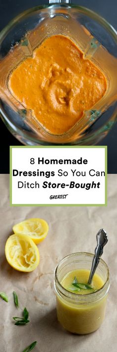 Lunch is looking better already. #greatist https://greatist.com/eat/homemade-dressing-recipes