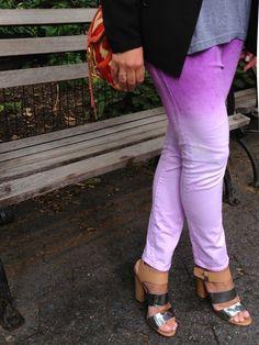 DIY Ombre Jeans!!