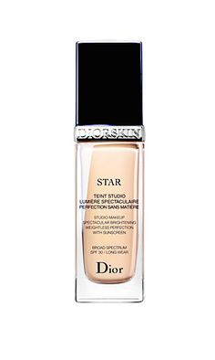 For undetectable coverage, try this celebrity makeup artist favorite. // Dior Beauty Diorskin Star Fluid Foundation