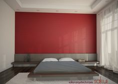 Geometrical retro wall vinyl decal by http://www.sakui-arquitectura.es