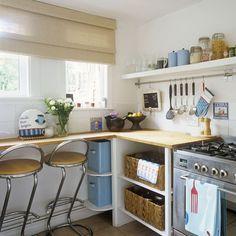 Küchen Küchenideen Küchengeräte Wohnideen Möbel Dekoration Decoration Living Idea Interiors home kitchen - Lagerung Ideen für kleine Küchen – UHR …