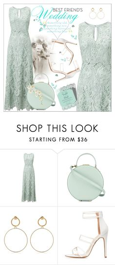 """""""My Best Friend's Wedding"""" by ultracake ❤ liked on Polyvore featuring Phase Eight, Tammy & Benjamin, Maria Francesca Pepe, Charlotte Russe, Pier 1 Imports, summerwedding and ultracake"""