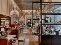 Grand Salon at The Baccarat Hotel New York