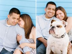 engagement photos with dog! Provincetown, MA - staceyhedman.com