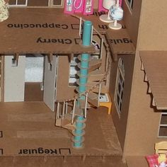 crafting+dollhouses | Doll House made entirely of cardboard - part 1 - PAPER CRAFTS ...