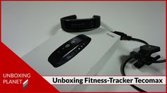 Unboxing Video über Bluetooth Fitness Tracker von Tecomax #unboxing #fitnesstracker #bluetooth #tecomax