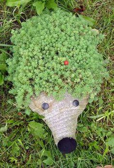 Cantinho craft da Nana: Reciclagem e jardinagem