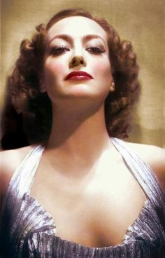 Joan Crawford (3/23/05 - 5/10/77) American actress in film, television and theatre.