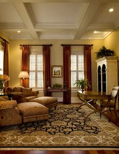 Cozy Library - traditional - home office - charleston - by Christopher A Rose AIA, ASID