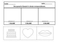 Materiale pentru exersarea despartirii în: o silaba, doua silabe, trei silabe si patru silabe. Color si alb-negru. – Catalina Bîrsan Bar Chart, Education, Blog, Bar Graphs, Blogging, Onderwijs, Learning