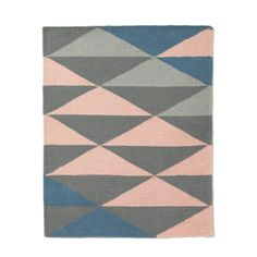 This carpet is on my wishlist Kids Room, Triangle, Sweet Home, Pillows, Rugs, Interior, Pattern, Color, Home Decor