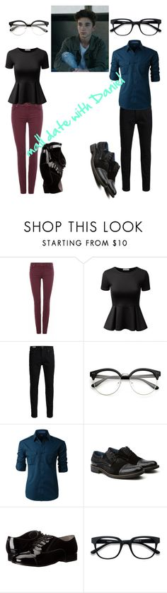 """""""Daniel Seavey #2"""" by bvbarmy-cc on Polyvore featuring 7 For All Mankind, Doublju, Jack & Jones, LE3NO, Vintage Foundry Co., Ivanka Trump and EyeBuyDirect.com"""