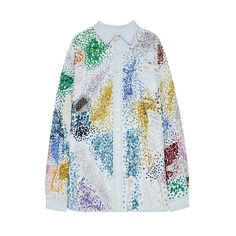 $ 2 010 Sequined cotton shirt by Ashish