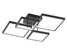LED-Deckenleuchte Sorrento | Westwing Sorrento, Led Technology, Small Rooms, Drafting Desk, Aluminium, Minimalist Design, Living Spaces, Ceiling Lights, Modern Living