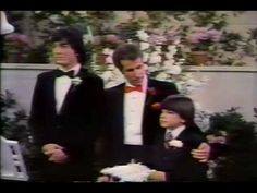 """Violinist Pam Gates and cellist Dana Rees play on Joanie and Chachi's wedding in the final episode of """"Happy Days"""" broadcast 1984."""