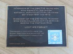 National Service Association memorial at Turramurra Memorial Park, Turramurra, NSW