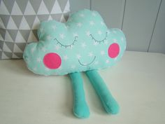 coccolone cuscino decorativo per bambini di Ifffka su DaWanda.com
