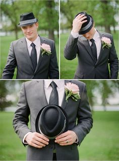 how cool is this groom in his hat...:)