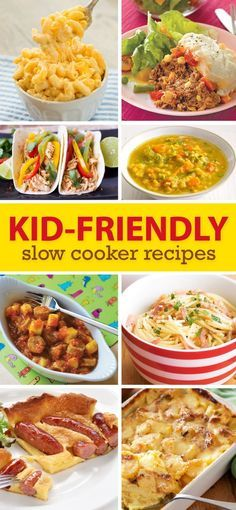 Slow Cooker Meals For Kids Make these delicious meals that the children will love, with minimum effort! Check out our Slow Cooker Recipes for Kids… Vegetarian Meals For Kids, Kids Cooking Recipes, Healthy Meals For Kids, Baby Food Recipes, Vegetarian Recipes, Healthy Recipes, Jello Recipes, Kid Recipes, Whole30 Recipes