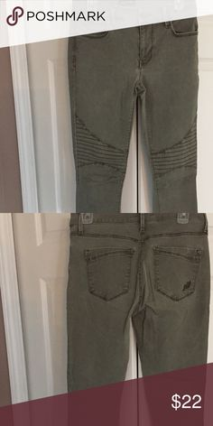 Express Legging Jean Army green Express Jeans Skinny