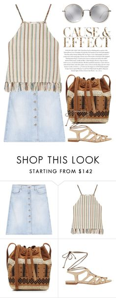 """""""Jul 6th (tfp) 1781"""" by boxthoughts ❤ liked on Polyvore featuring Closed, Miguelina, Vanessa Bruno, Linda Farrow, Envi and tfp"""