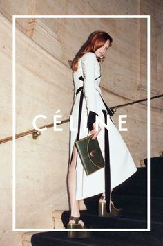 Natalie Westling by Juergen Teller for Céline Fall Winter 2014-2015
