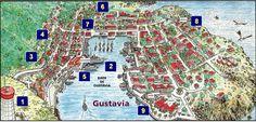 Site officiel de la collectivité de Saint-Barthélemy, Antilles Françaises - Visiter Gustavia