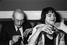 wowe: William S. Burroughs and Madonna, The Limelight, New York, 1984