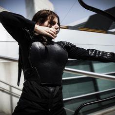 Katniss Everdeen costume  Mockingjay armour   by Cassatonic Cosplay