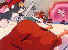 Tom and Jerry   Happy Thanksgiving!