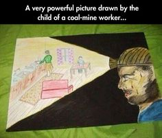 A Powerful Image From A Child