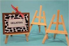 Coisas da Lívia: DIY Mini-cavalete