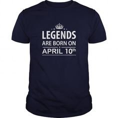 Cool Birthday April 10 copy  legends are born in TShirt Hoodie Shirt VNeck Shirt Sweat Shirt for womens and Men ,birthday, queens Birthday April 10 copy I LOVE MY HUSBAND ,WIFE Shirts & Tees