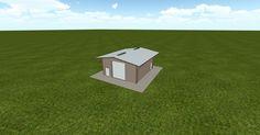 3D #architecture via @themuellerinc http://ift.tt/2p6fZkG #barn #workshop #greenhouse #garage #DIY