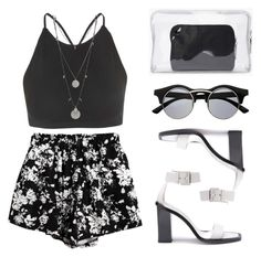 """""""B&W"""" by baludna ❤ liked on Polyvore featuring mode, COSTUME NATIONAL, Chicnova Fashion, Motel, Vince Camuto en 3.1 Phillip Lim"""