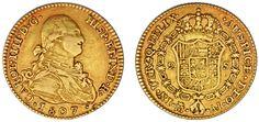 2 GOLD ESCUDOS/ORO. CHARLES IV-CARLOS IV. MADRID 1807. VF+/MBC+. ATRACTIVA.