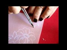 ▶ ‪PARCHMENT CRAFT ''HOW TO CUT ''ON THE FINGER OR ON THE PAD‬‏ - YouTube
