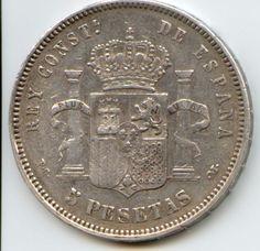 5 pesetas coin