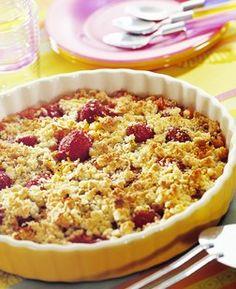 Recettes crumble, desserts aux fruits - © Jean-Paul Boyer / CEDUS Le crumble a su réinventer les desserts à base de fruits. Composé d'une pâte à l'apparence émiettée (d'où le nom crumble...