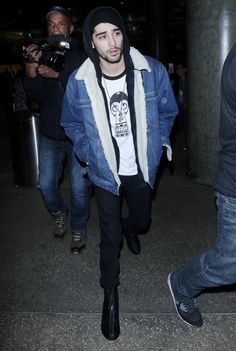 Zayn Malik - Man in Sherpa Denim Jacket