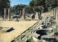 Image result for ancient olympia - visited on honeymoon.