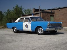 Chicago PD 1965 Ford Custom.