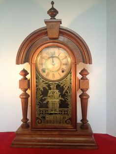 "Ansonia ""King"" Antique Mantle Clock"