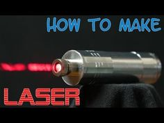 How to make a powerful burning laser from DVD-rw - YouTube