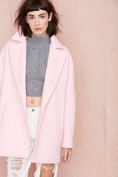 Dustee Coat- need to have a pink coat this winter !