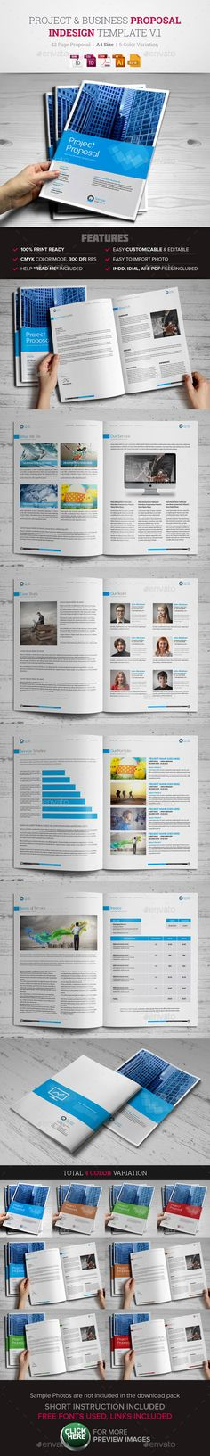 Minimal Business Proposal Business proposal, Marketing proposal - free business proposal template download