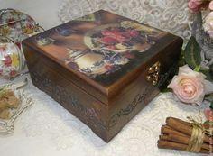 Купить или заказать Чайная шкатулка 'Розовый чай' в интернет-магазине на Ярмарке Мастеров. Вы любите свой дом и стремитесь придать ему уют и неповторимость? Вы хотите, чтобы ваши гости говорили: 'Твой дом СКАЗКА!!!'? Мои авторские работы, выполненные в романтическом стиле, помогут осуществить вашу мечту! Очень большая и вместительная шкатулка для хранения чайных пакетиков, сладостей, сухофруктов, орехов, кофе, мешочков с травами и специями и многого другого. Имеет три отделени...